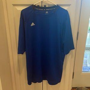 Adidas team performance workout shirt XXL